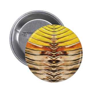 Palm Frond Leaf Macro Button