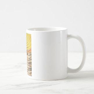 Palm Frond Leaf Macro Coffee Mug