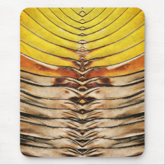 Palm Frond Leaf Macro Mouse Pad
