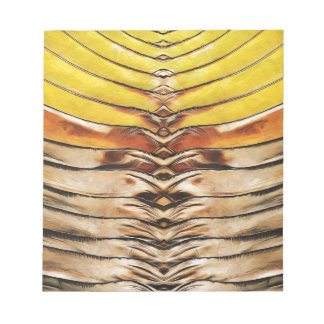 Palm Frond Leaf Macro Notepad