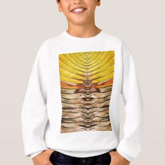 Palm Frond Leaf Macro Sweatshirt