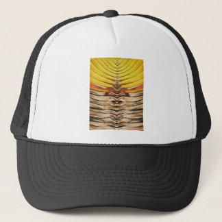 Palm Frond Leaf Macro Trucker Hat