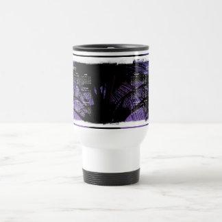 Palm Frond Silhouette; 2012 Calendar Travel Mug