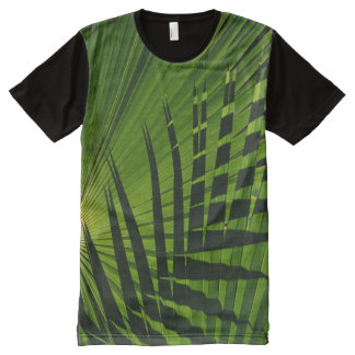 Palm Fronds All-Over Print T-shirt