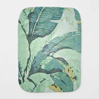 Palm Fronds Burp Cloth