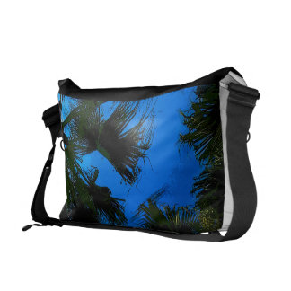 Palm Fronds Courier Bag