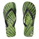 Palm Fronds Flip Flops