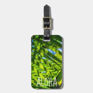 Palm Fronds, Grove Farm, Kauai, Hawaii - Aloha Luggage Tag