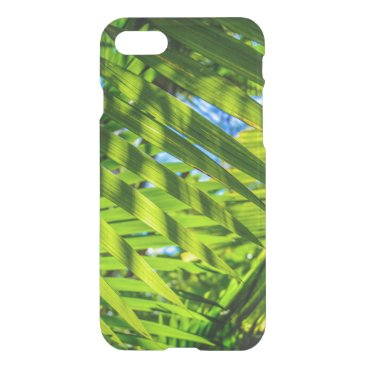 Beach Themed Palm Fronds, Grove Farm, Kauai, Hawaii iPhone 7 Case