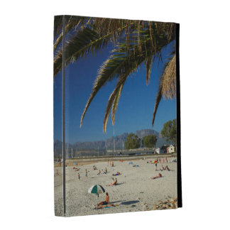 Palm Fronds Over Beach At Gordon's Bay iPad Folio Cover
