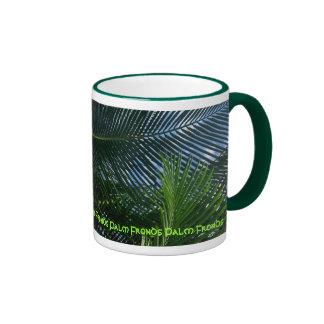 Palm Fronds Ringer Mug