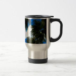 Palm Fronds Travel Mug