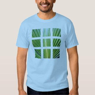 palm grid shirt