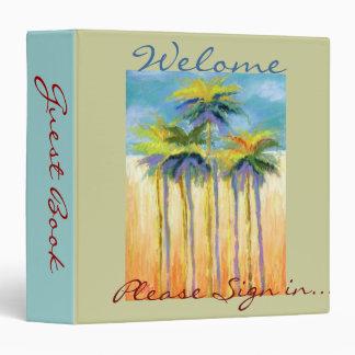 Palm-Guest book binder