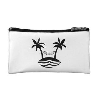 palm hammock beach smile blk png makeup bag