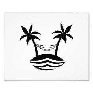 palm hammock beach smile blk.png photo art
