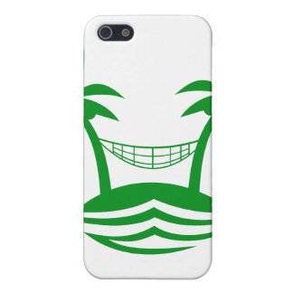 palm hammock beach smile green.png covers for iPhone 5