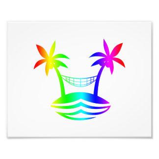 palm hammock beach smile rainbow.png art photo