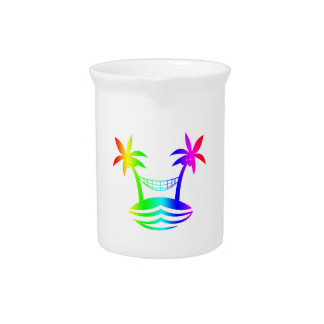 palm hammock beach smile rainbow.png beverage pitchers