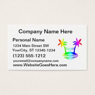 palm hammock beach smile rainbow.png business card