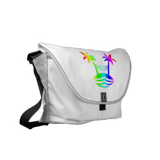 palm hammock beach smile rainbow.png courier bags