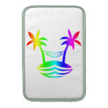 palm hammock beach smile rainbow.png MacBook sleeve
