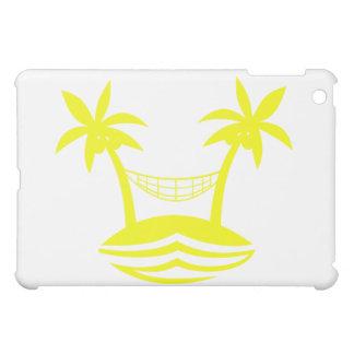 palm hammock beach smile yellow.png iPad mini covers