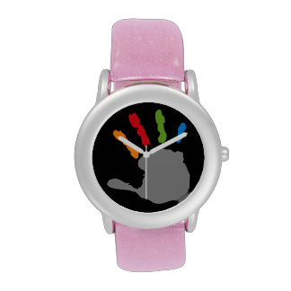 Palm Hand Print Watch