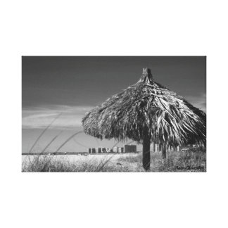 Palm Hut Marco Island Canvas Print