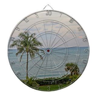 Palm in Paradise Dartboard