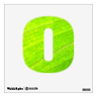 PALM LEAF 1618 LIGHT NEON GREEN NATURE VEGETATION WALL SKINS