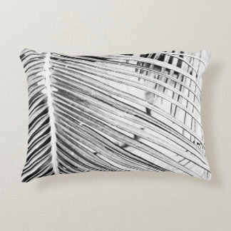 Palm Leaf Accent Pillow