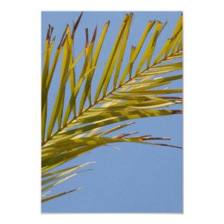 Palm Leaf Custom Invites