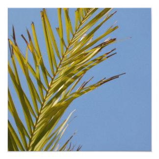 Palm Leaf Custom Invitation