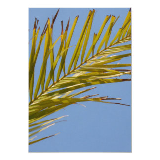 Palm Leaf Personalized Announcement