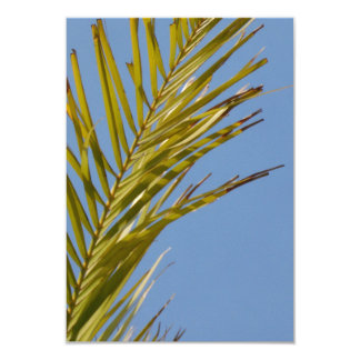 Palm Leaf Personalized Invitation