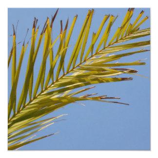 Palm Leaf Custom Invite