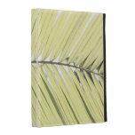Palm leaf iPad folio cover