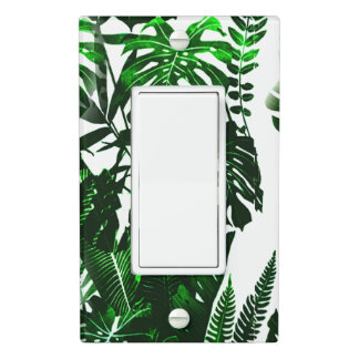 Palm Leaf Light Switch Cover