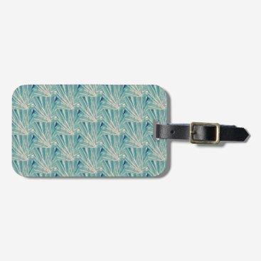 Professional Business Palm leaf luggage tag, business card slot bag tag