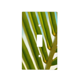 Palm Leaf Photo Light Switch Cover
