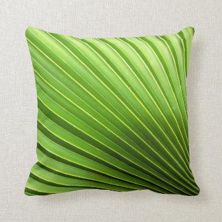 Palm Leaf Pillos Throw Pillow