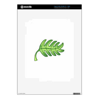 Palm Leaf Decal For iPad 2