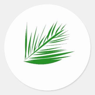 Palm Leaf Stickers