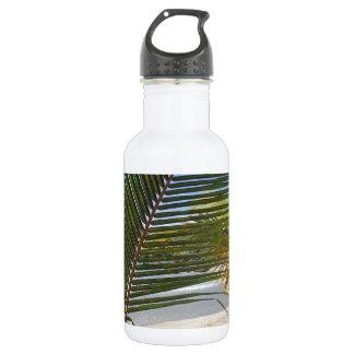 palm leaf water bottle