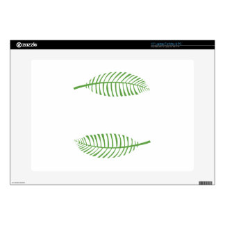 "Palm Leaves 15"" Laptop Skins"