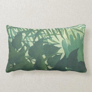 Palm Leaves and Jungle Henri Rousseau Lumbar Pillo Pillows