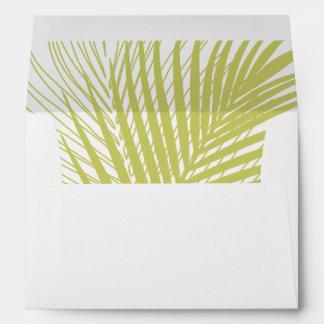 Palm Leaves Envelope
