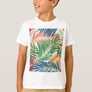 Palm Leaves in color T-Shirt
