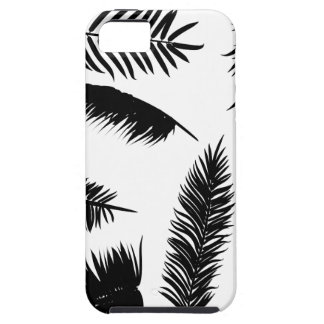Palm Leaves Silhouettes iPhone SE/5/5s Case